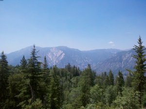the arrowhead on the san bernardino mountains