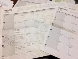 yearly calendar