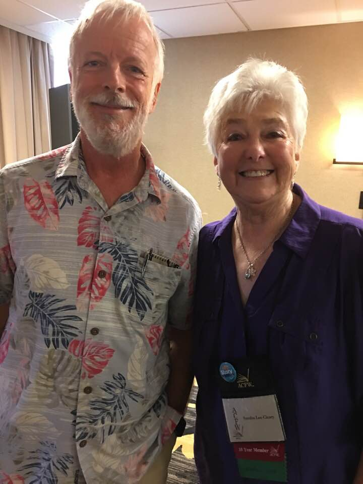 Frank P. and me at ACFW Conference 2019