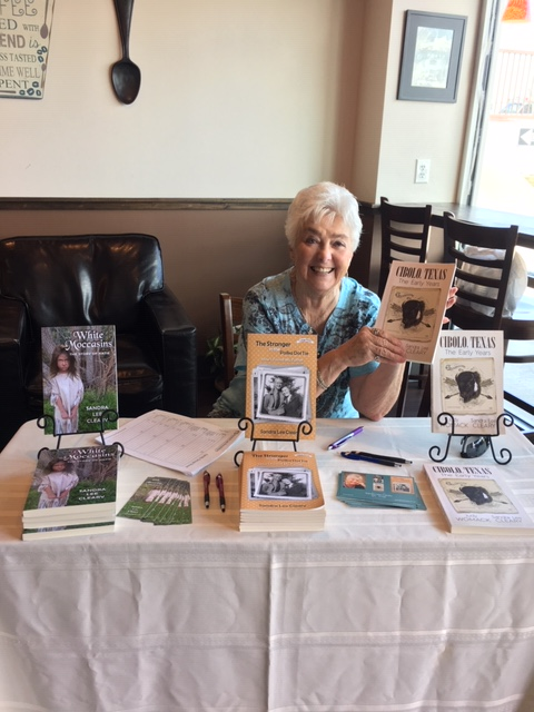 Book Signing at Cibolo Coffee Haus Jul 2019