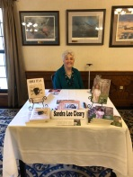 Book Signing at RAFB Parr Club Oct 2019