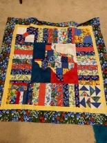 My finished bluebonnet quilt 2020